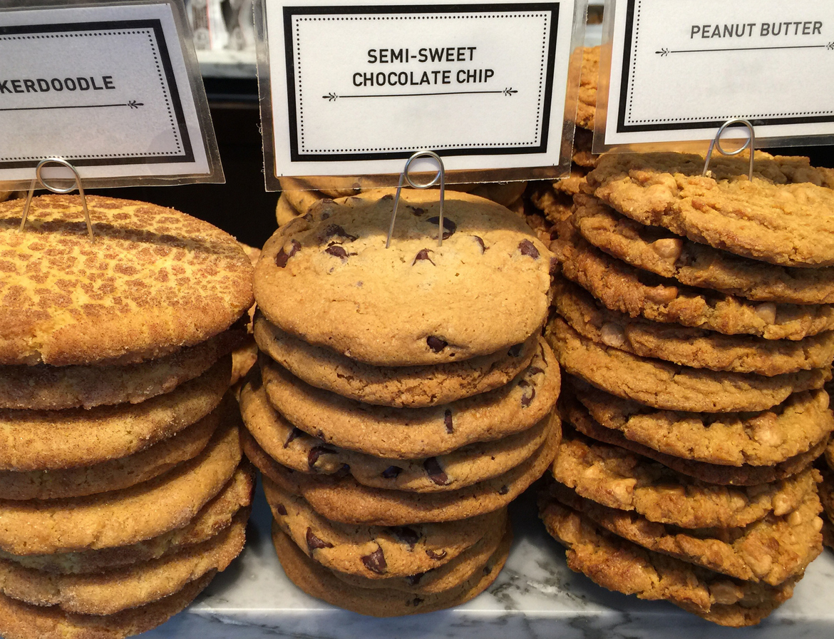 Stack of cookies in Houston