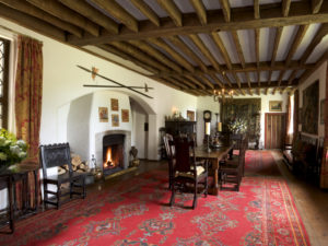 Historical dining room; virtual tours of Houston.